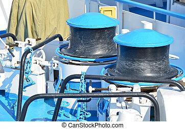 Anchor winch mechanism