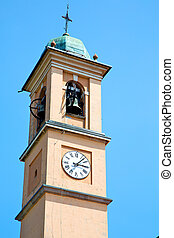 ancien clock tower in italy europe bell - ancien clock tower...