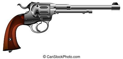 ancien, fusil
