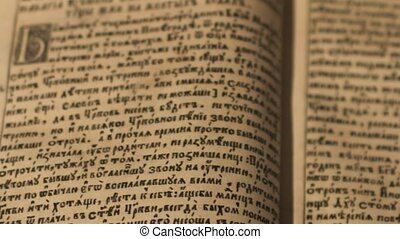 ancien, lecture, manuscrit