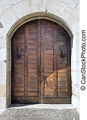ancien, portal.