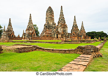 ancien, temple