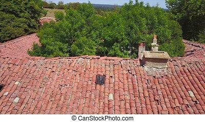 Ancient abbey in Urbasa,Navarre,Spain