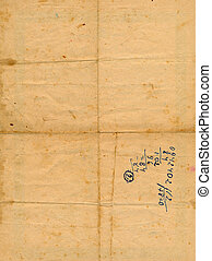 ancient aged paper with numbers background