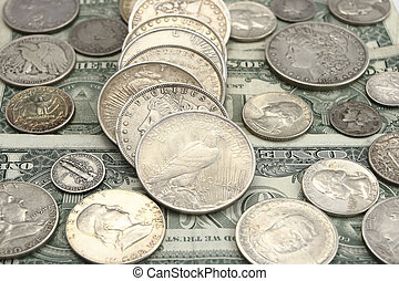 ancient american silver coins