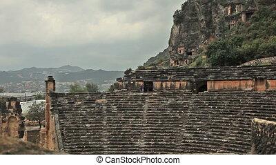 ancient amphitheater at Myra