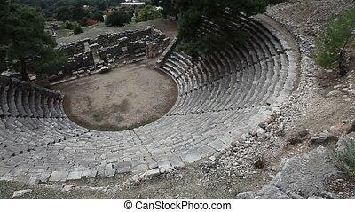 Ancient Amphitheater Of Arykanda