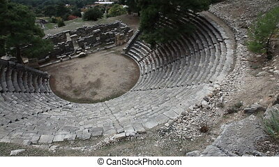 Ancient Amphitheater Of Arykanda