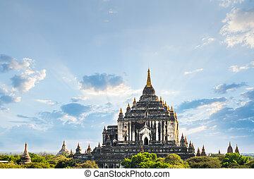 Ancient Ananda Temple at Bagan. Myanmar (Burma),