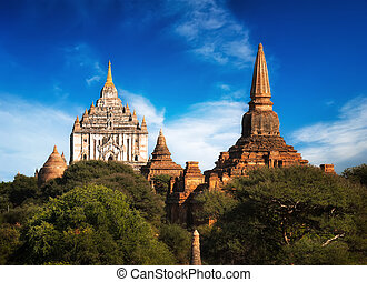 Ancient Ananda Temple at Bagan. Myanmar (Burma)
