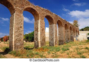 Ancient aqueduct.