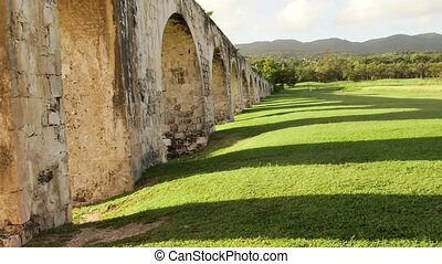 Ancient aqueduct Jamaica