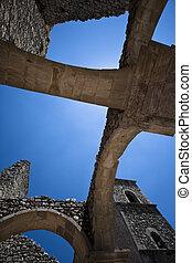 Ancient arch church