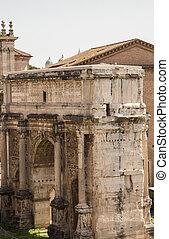 Ancient Arch in Roman Forum
