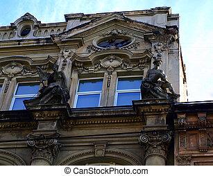 Ancient architecture in Lviv