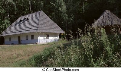 Ancient architecture of the 18th century. - An old house....