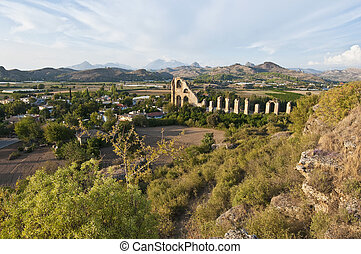 Ancient Aspendos archaeological site, Turkey