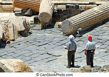 Ancient Beit Shean - Israel - BEIT SHEAN,ISR - JUNE...