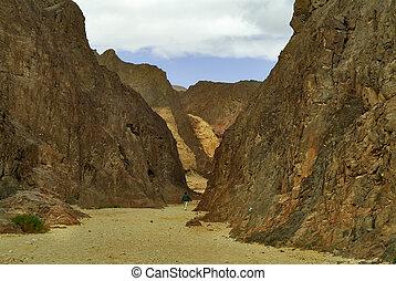 Ancient Black canyon