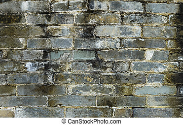 Ancient brick wall