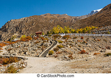 Ancient buddhist temple.
