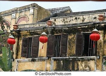 Ancient building Hoi An