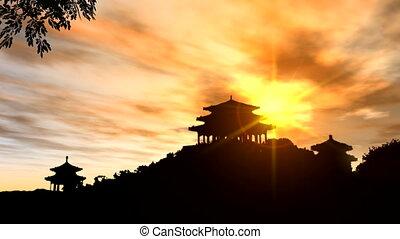ancient building,China
