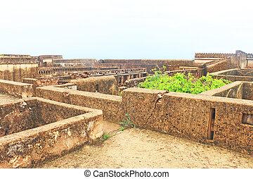 ancient bundi fort and palace india