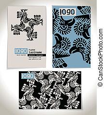 Ancient Business card design