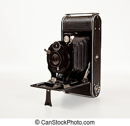 Ancient Camera in side view