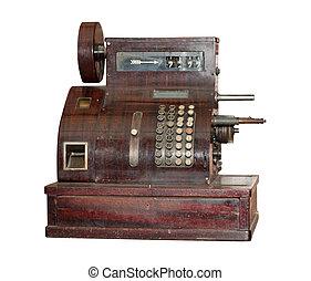 Ancient cash register