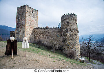 Ancient castle in the mountains