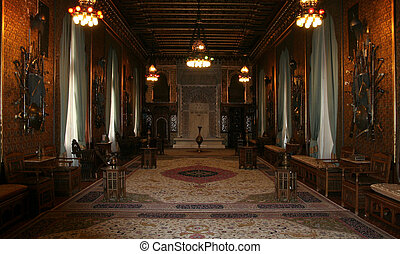 ancient castle - interior room design in the ancient castle