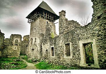 ancient castle - ruins of old ancient castle