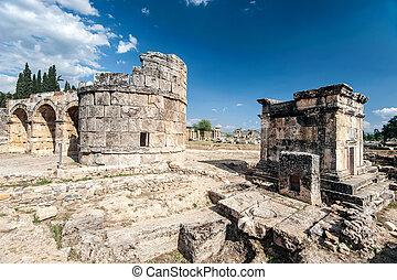 Ancient castle in Pamukkale
