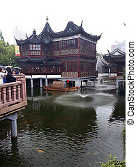 Ancient Chinese building.