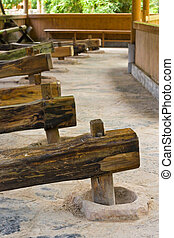 ancient Chinese grinding mill (2)