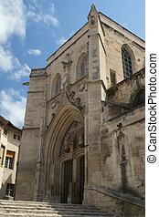 Ancient Church in Avignon (France)