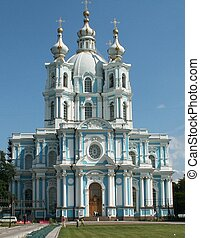 Ancient church in Peterburg