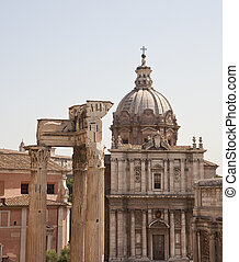 Ancient Church in Roman Forum
