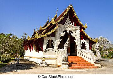 Ancient church lan Na