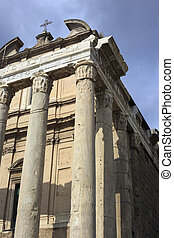 Ancient church, Rome