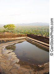Ancient Cistern at Sigiriya, Sri Lanka