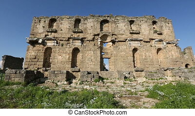 ancient city of Aspendos 2 - 1000 BC Ancient Aspendos City...