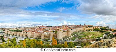 Ancient city of Avila, Castilla y Leon, Spain