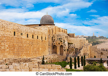 Ancient city of Jerusalem, city of three religions