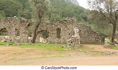 ancient city of Olympos 11 - 2nd century BC Ancient Olympos...