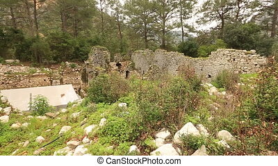 ancient city of Olympos 2 - 2nd century BC Ancient Olympos...