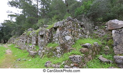 ancient city of Olympos 6 - 2nd century BC Ancient Olympos...