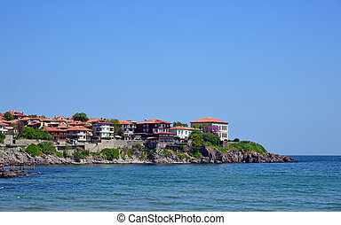 Ancient city of Sozopol in Bulgaria